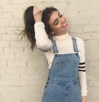jumpsuit sweater cute trendy retro tumblr fashion cool brandy melville teenagers overalls american apparel turtleneck