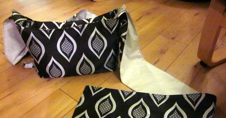 GeekySweetheart: Tutorial and Pattern: Wrap Strap Bag!