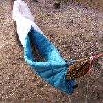 How to make a DIY camping hammock underquilt from a cheap sleeping bag