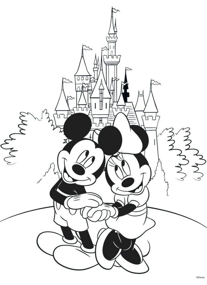 coloring pages disney castle from