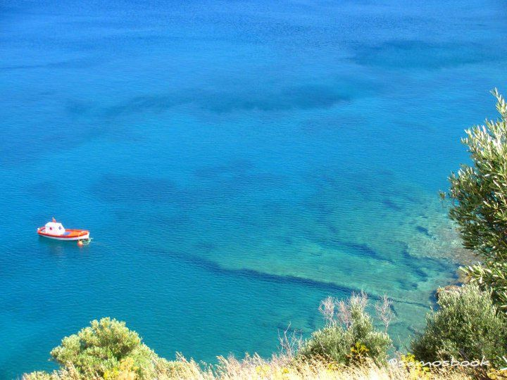Makria Pounta! Samos Island, Greece! Photo by Nick Tsoulontino