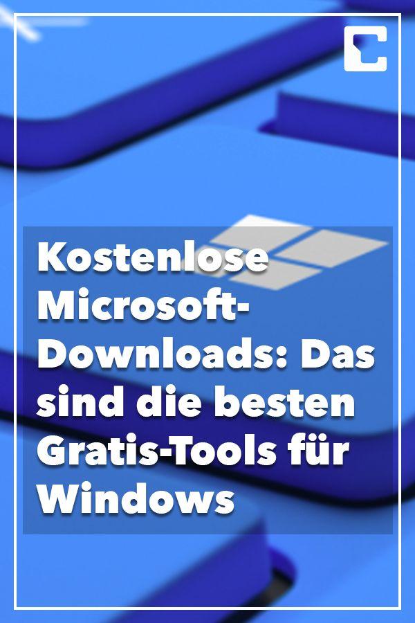 Kostenlose Microsoft-Downloads: Die besten Gratis-Tools für Windows