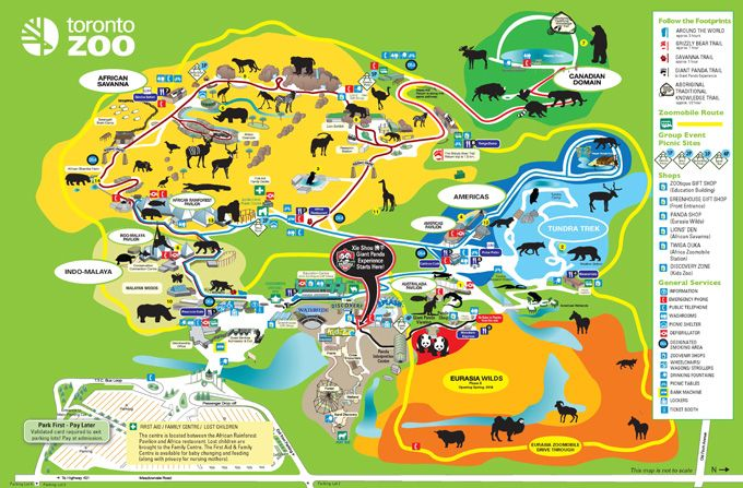 Toronto Zoo Map Example Of Navigation Defining Information - Georgia zoo map
