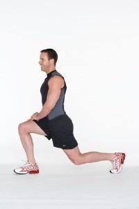 hip flexor/quadricep stretch... health.howstuffworks.com: Lower Back, Hip Stretch, Body Weight