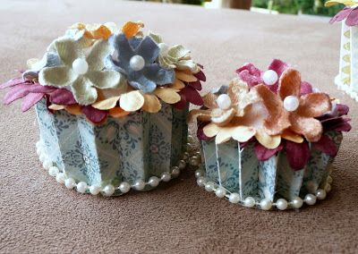 Wild About Scrap Design Team: CUP CAKES