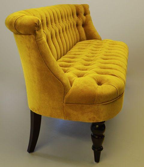 Модульный диван с утяжкой спинки