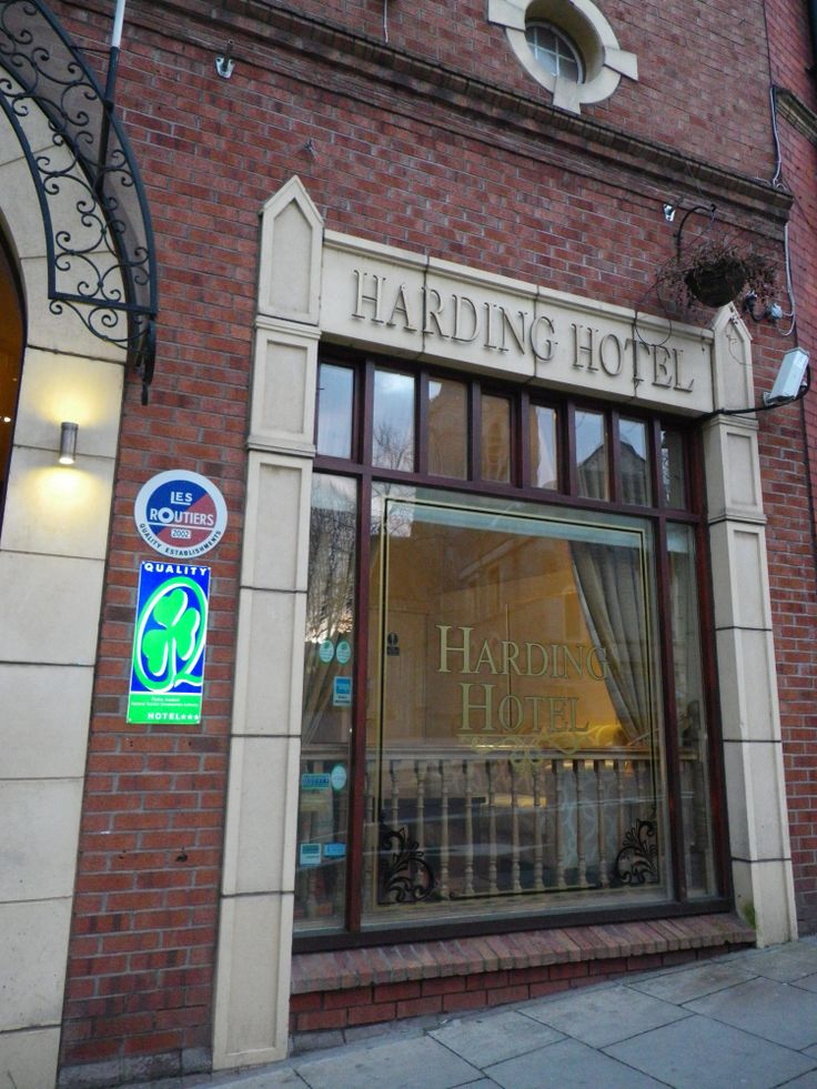 The Harding Hotel in Dublin - stayed here in Feb 2011