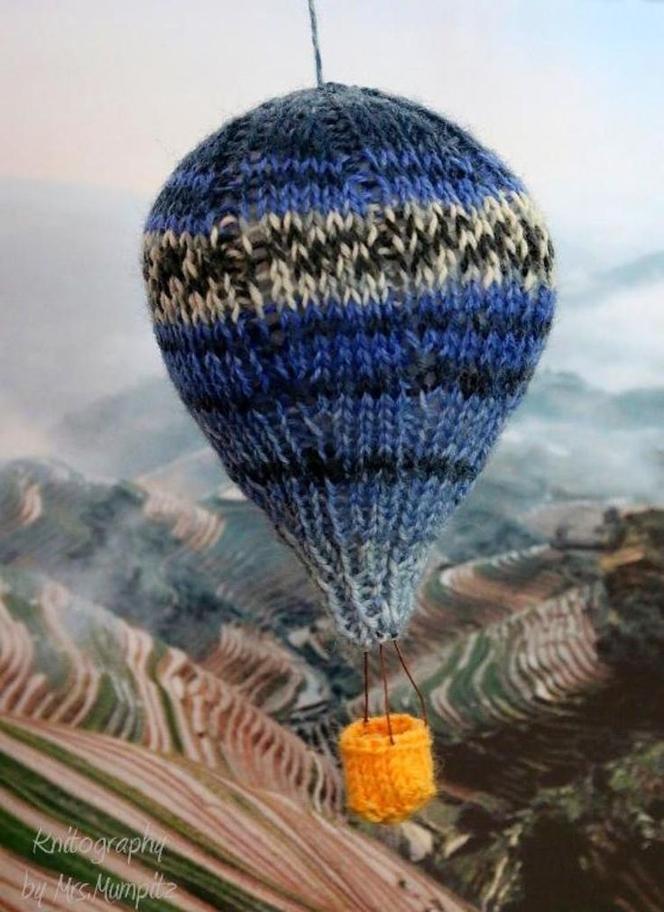 Hot Air Balloons Mobile knitting pattern   Craftsy