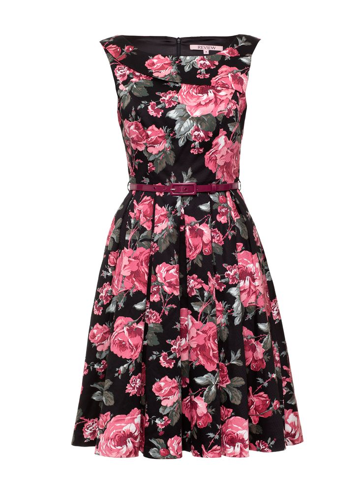 Rose Quartz Dress | Black and Multi | New Arrival