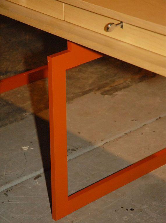 Bodil Kjaer Desk | From a unique collection of antique and modern desks at http://www.1stdibs.com/furniture/storage-case-pieces/desks/
