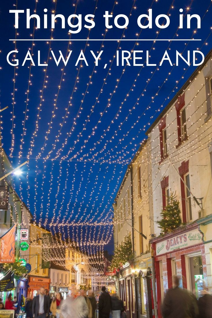 Around the World with GirlCrew in 40 Days: Things to do in Galway, Ireland. #GorgeousGalway