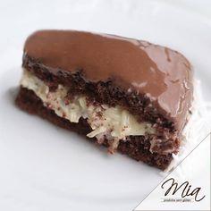 Torta Prestígio Sem Glúten Top!!! É de dar água na boca! Confira abaixo a receita da MIA Produtos sem Glúten!