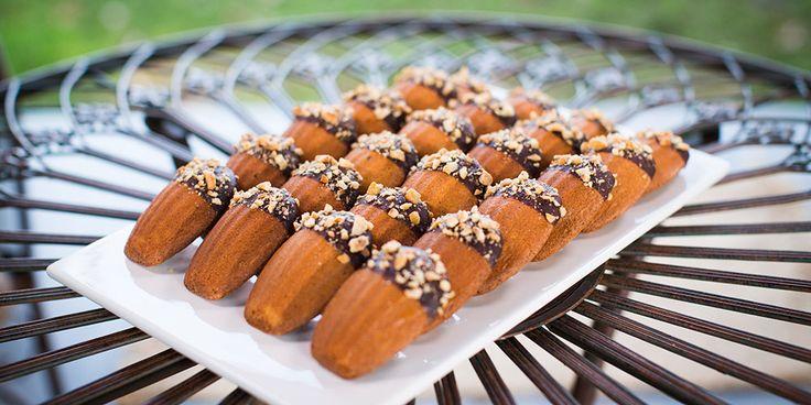 Maggie Beer's chocolate dipped hazelnut madeleines   The Great Australian Bake Off   Lifestyle [The Great Australian Bake Off - S03E01]