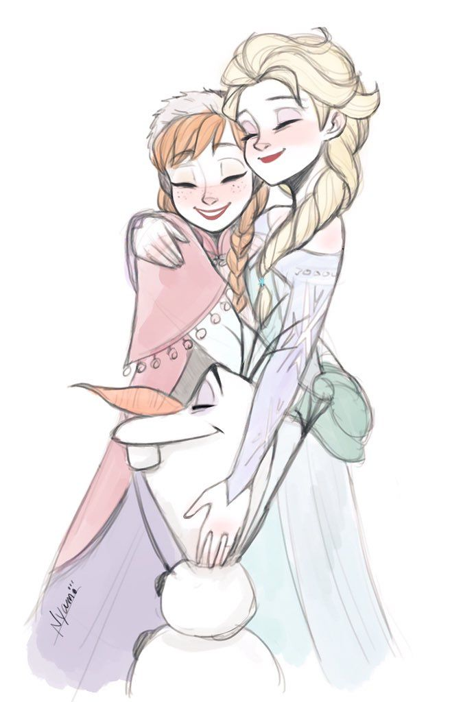 17 best images about frozen on pinterest frozen 2013 - Frozen anna and olaf ...