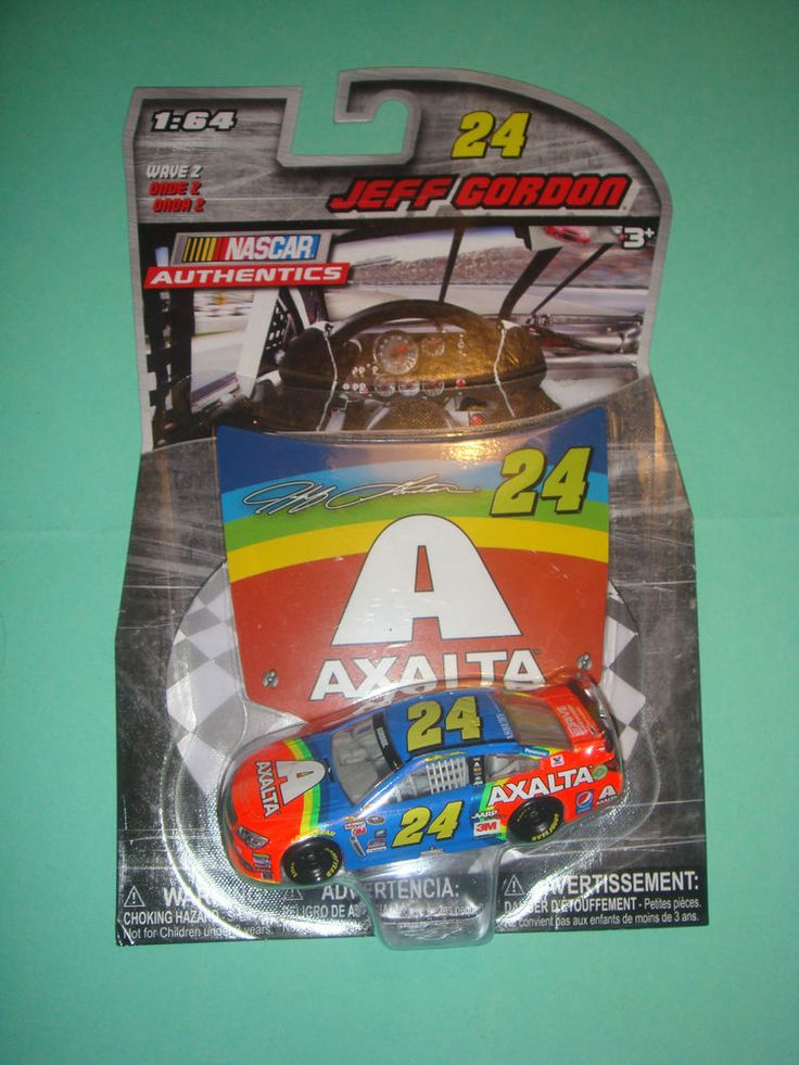 1/64 2015 JEFF GORDON #24 RAINBOW COLORS AXALTA NASCAR AUTHENTICS