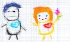 Отличная рисовалка для начинающего художника. Рисование онлайн с сохранением на компьютер.