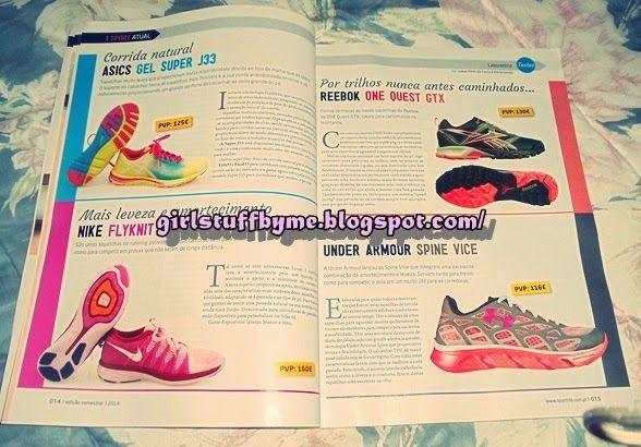 Revista Sport Life mulher Ténis