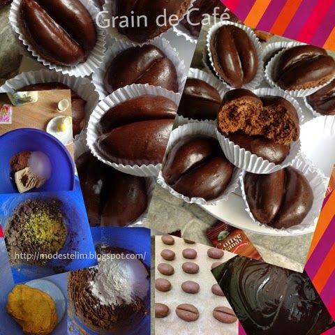 Délice et gourmandise recettes algériennes : Grain de café