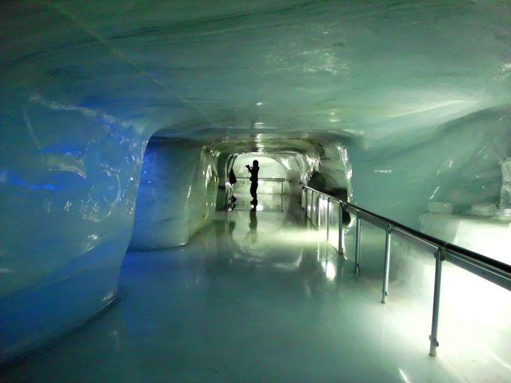 Eispalast Jungfraujoch (Schweiz)