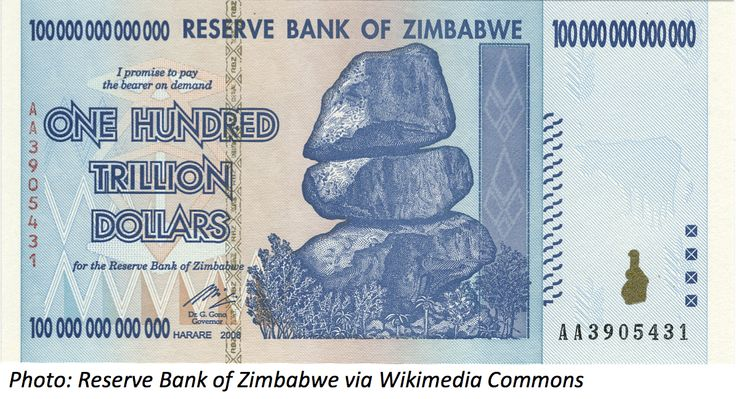 Of all the things you can buy, buying money might seem a little strange. If you buy this Zimbabwe currency, you can tell your friends you're a trillionaire, but you can't buy anything with it. Check out the trillion-dollar #BedtimeMath problem!   #math