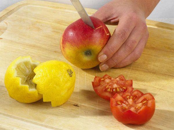 Gemüse schnitzen - Deko zum Vernaschen aus Tomaten, Möhren & Co. - zick-zack-tomaten  Rezept