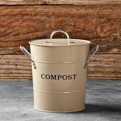 My first step to composting!: Kitchens, Kitchen Compost, Williams Sonoma, Buckets, Gift Ideas, Williamssonoma, Garden