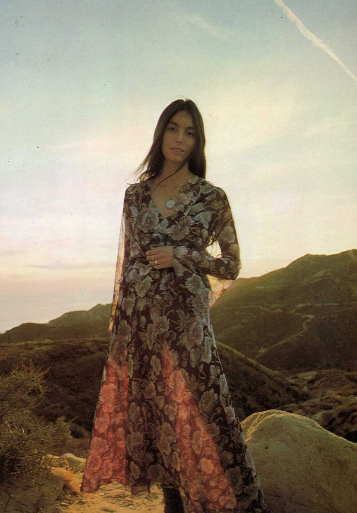 Look we love :: vintage printed maxi dresses. #desertdaze #inspo #vintage #instorenow