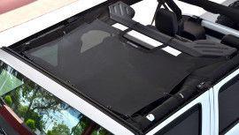 SpiderWebShade JKini-4D Trailmesh for Jeep Wrangler Unlimited 4 Door