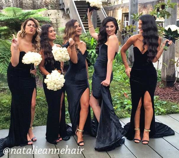 Best 25+ Long black bridesmaid dresses ideas on Pinterest ...
