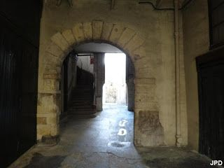 Paris 4e - 56 rue de la Verrerie - Paris-bise-art : Une sente médiévale rue de la Verrerie
