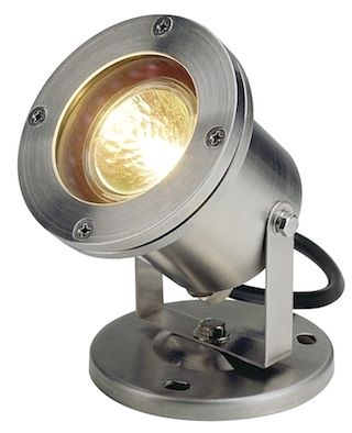 SLV Lighting 1 Light Outdoor Single Head Flood Light from the Nautilus Stainless Steel Outdoor Lighting Flood Lights Single Head Flood Light  sc 1 st  Pinterest & The 142 best SLV Outdoor Wall Fixtures images on Pinterest | Wall ...
