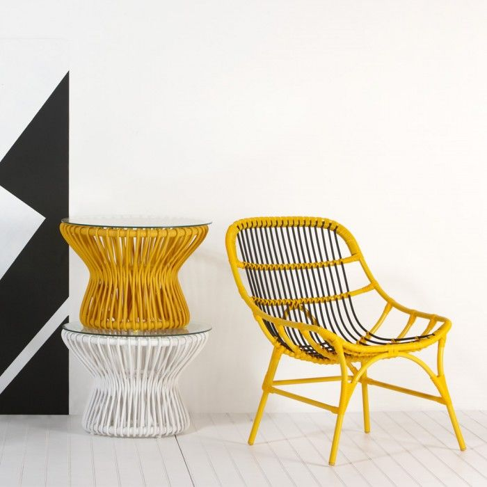 Village Chair Yellow & Black - Me and My Trend