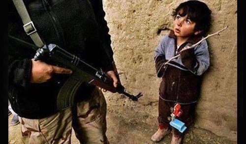 Ölümü Korkuyla Bekleyen Ortadoğulu Çocuklar