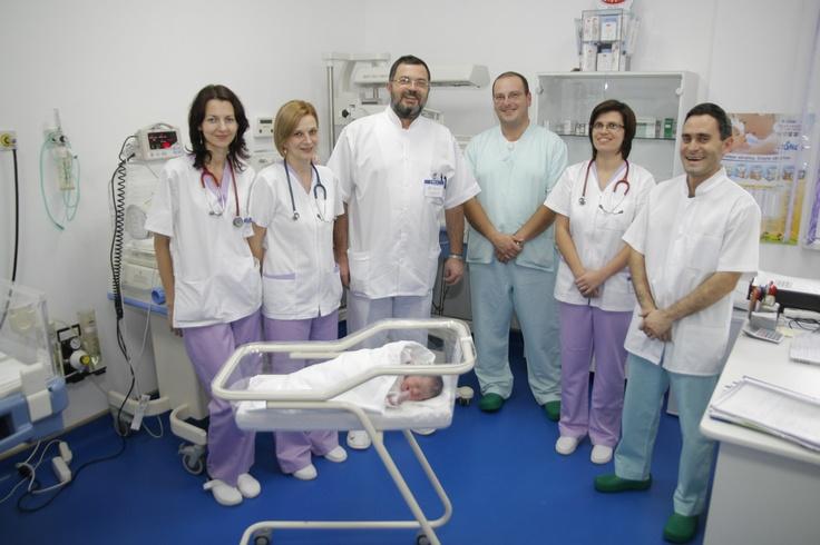Staff-ul maternitatii private Nova Vita