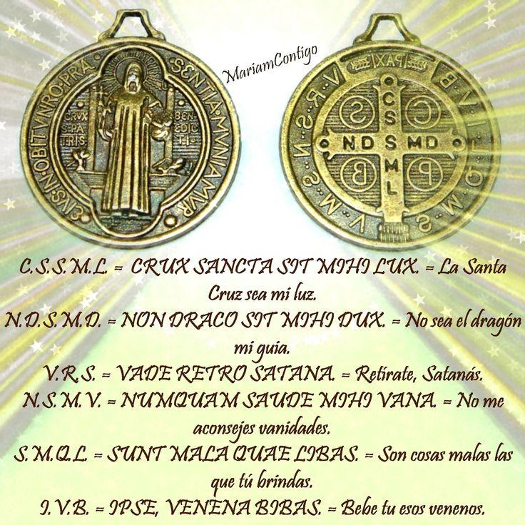 ORACION A SAN BENITO PARA CASOS URGENTES, MAGIAS, CHISMES, TRAICIONES... ¡Glorioso San Benito, amado padre y protector! modelo sublime ...