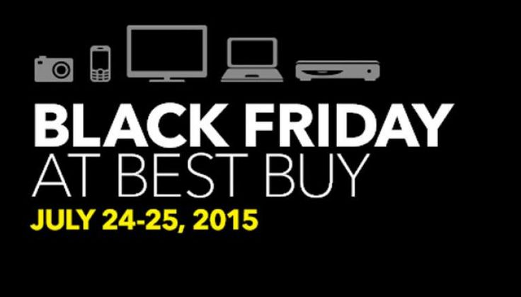 Best Buy Black Friday in July Deals include Discounts on Mac and iPad Air 2