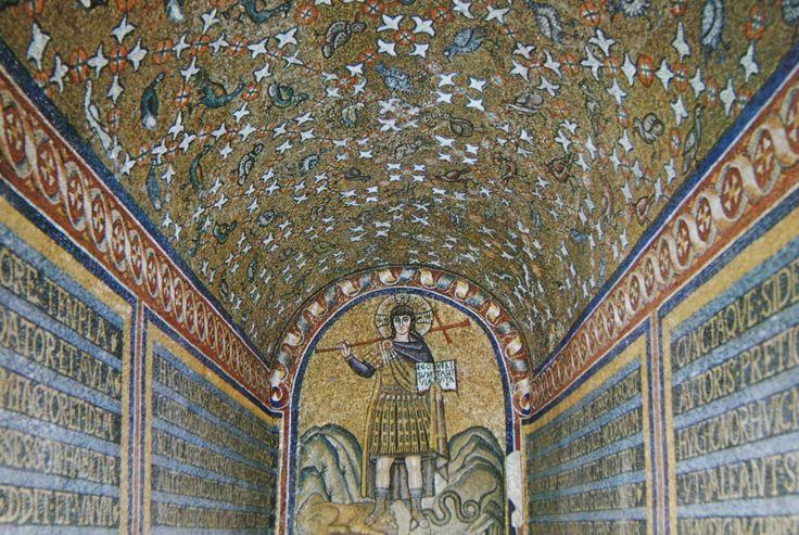 Ravenna - kaple sv Ondřeje a arcidiecézní muzeum (Cappella di Sant'Andrea e Museo Arcivescovile)