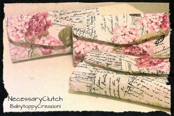 progettazione del necessario frizione portafoglio tessuto - Portafoglio frizione necessaria stoffa - carta & cash - tessuto portafoglio - made in Italy- #italiasmartteam #etsy