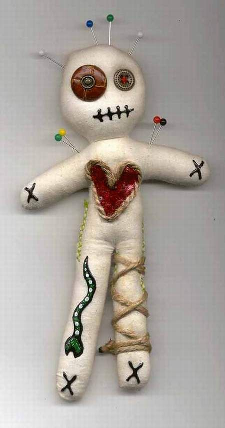 Little Muslin Voodoo Doll by jazzy1453.deviantart.com on @deviantART