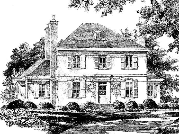 Eplans English Cottage House Plan   Vernon Hill From The Southern Living
