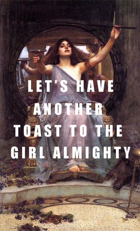 Let's pray we stay young John William Waterhouse, Circe Offering the Cup to Ul…