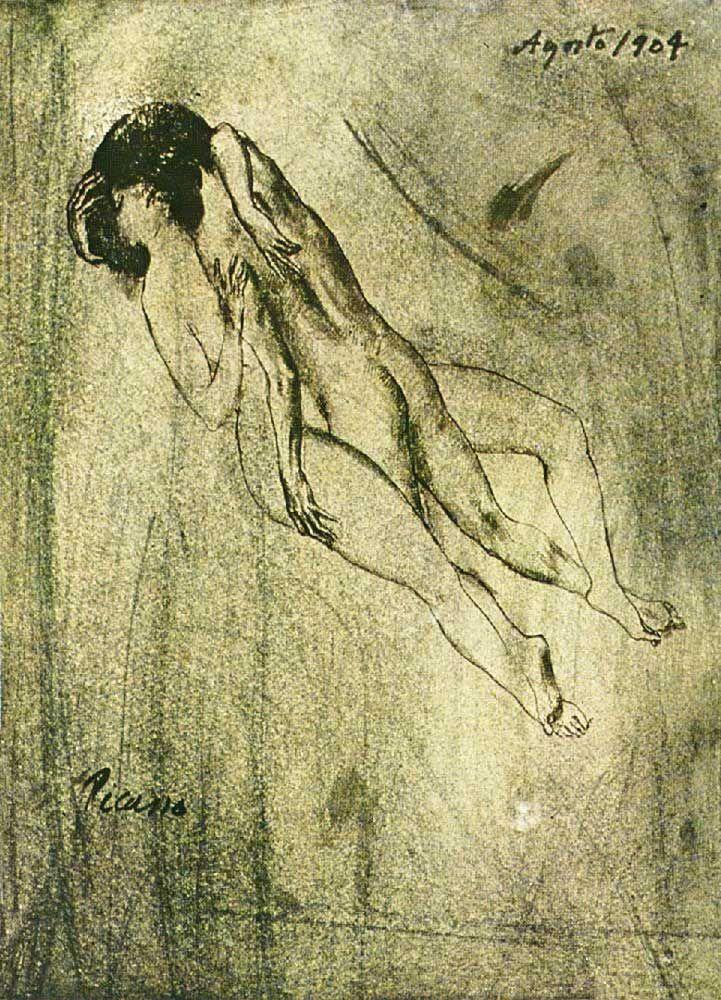 """Due belle letture, una immagine di Picasso e una poesia di Mario Luzi. Mi pare di potere affrontare meglio il tempo che arriva e che se ne va in un baleno :) Certo, lo affronterei anche meglio se avessi conferma che ci sia qualcuno cui piace quello che condivido ;)  """"Che mi riserva rivederti, amore, quale viaggio t'hanno dato i venti? L'oscuro avvolge questi giorni chiari,"""" [segue]  #marioluzi, #amanti, #poesiarecitata, #audiopoesia, #poesia, #lettura, #italiano,"""