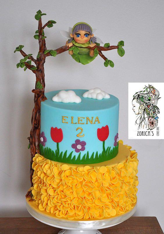 Flying fairy cake