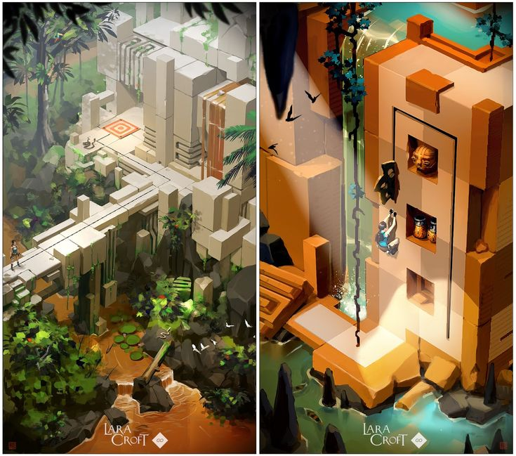 BLOGiboulga | barontieri: | Lara Croft GO...