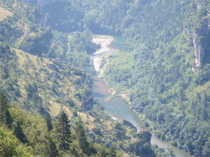 Les Gorges du Tarn par St Eminie, Lozére, 48.