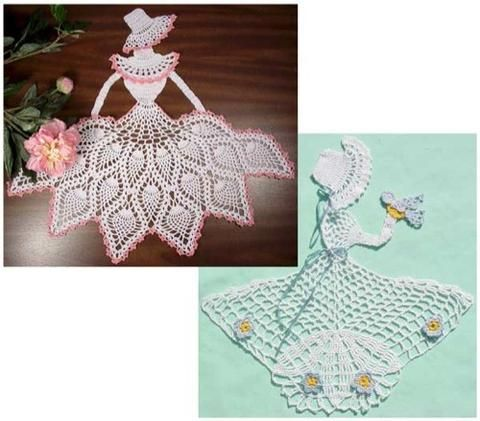 Picture of Ladies of Lace Crochet Pattern
