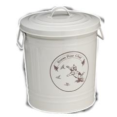 Don't use plastic food bins. Metal is healthier! $40.00