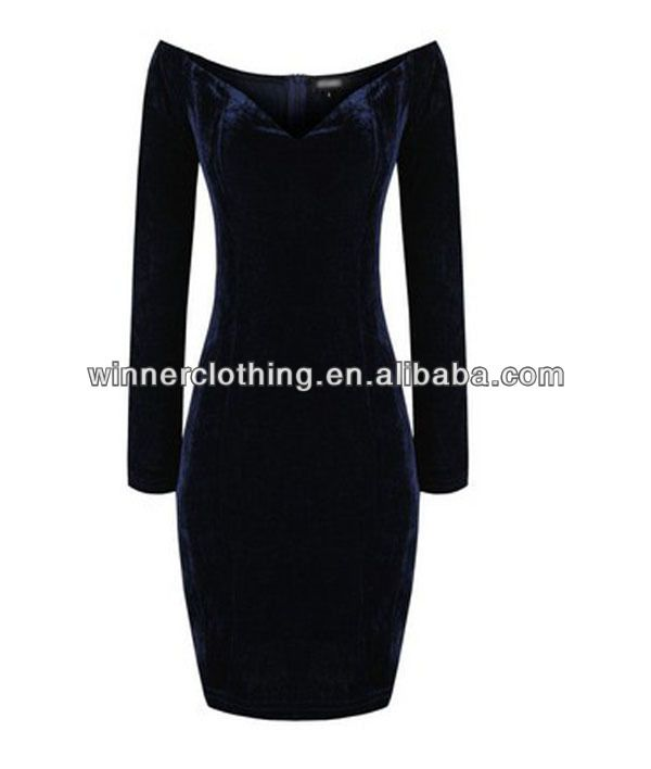 2014 winter women's clothing garment apparel direct factory OEM/ODM manufacturing top fashion ladies winter velvet dress, View winter velvet dress, winner Product Details from Shenzhen Winner Clothing Co., Ltd. on Alibaba.com
