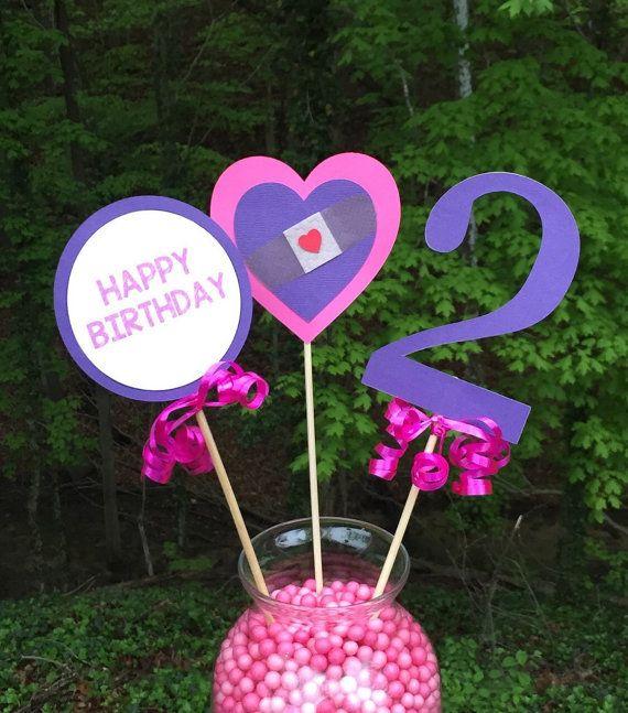 Doc Mcstuffins Birthday Party Centerpiece Doc by LittleMichaels