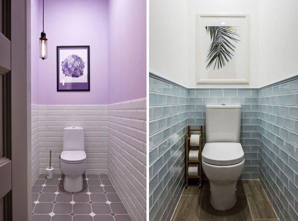 Дизайн туалета маленького размера - фото без раковины ...